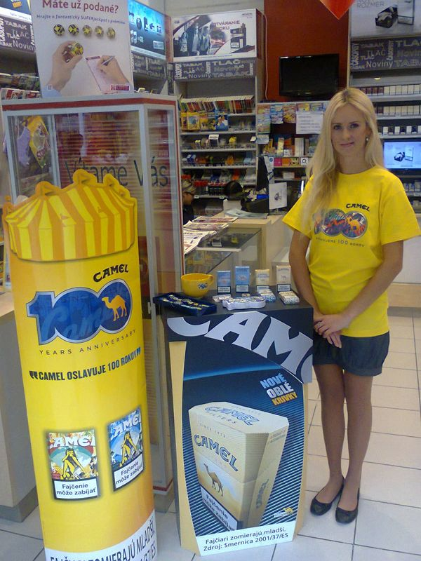 In store camel coupons
