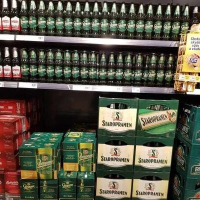 Merchandising for Staropramen