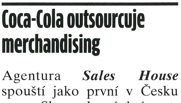 Coca-Cola outsourcuje merchandising