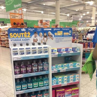 Johnson & Johnson merchandising